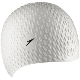 speedo Bubble Cap Unisex, white